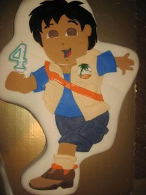 diego cake - dora the explorer's friend