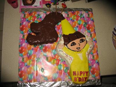Dora Fairytale Princess Cake