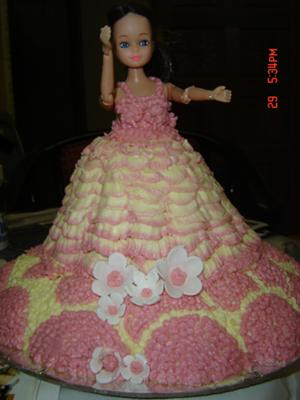 nirmani barbie cake