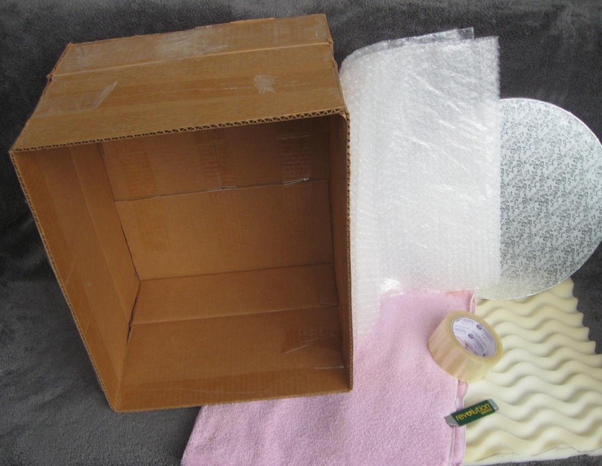 cake transport box materials