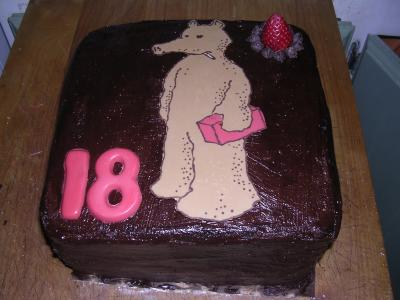 chocolate quasimoto cake