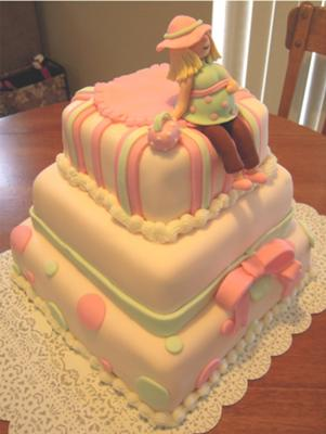 cute mom to be cake