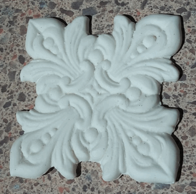gum paste acanthus design
