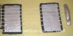 guitar cake strings