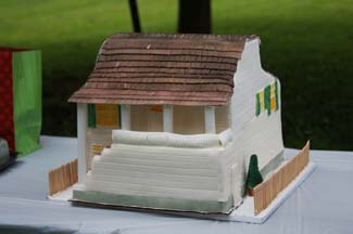 habitat for humanity home cake