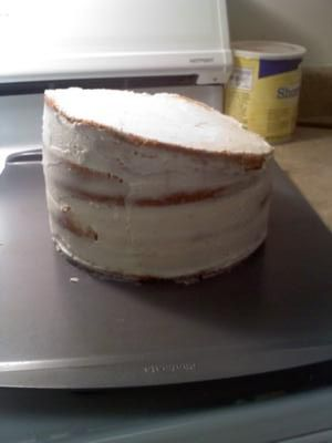 crumb coated topsy turvy tier