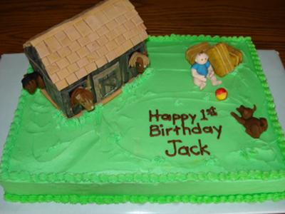 jack on the farm cake