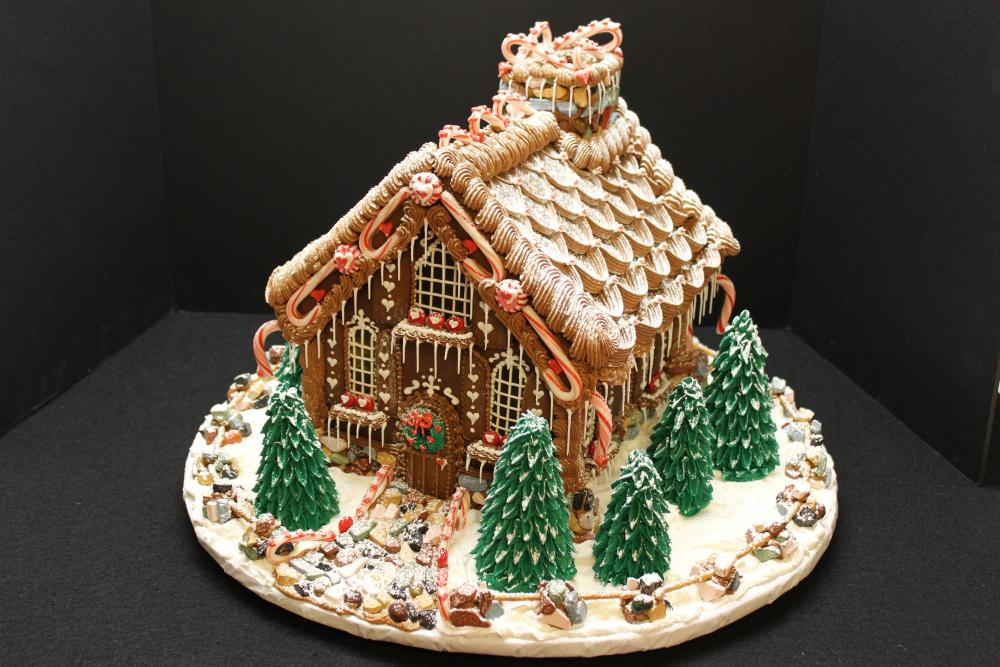lambeth gingerbread house
