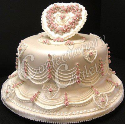 victorian rose lambeth cake
