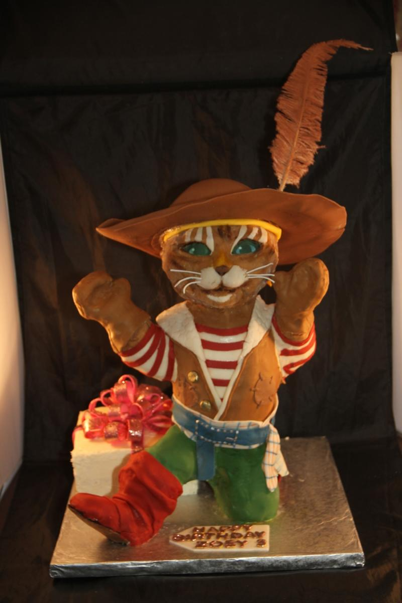 Puss 'N' Boots Cake
