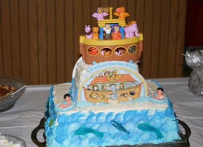 noahs ark baby shower cake pictures to pin on pinterest