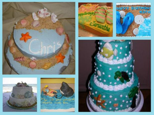 Beach Cakes Collection