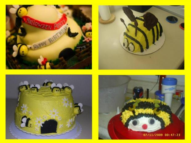 bumble bee cakes collection