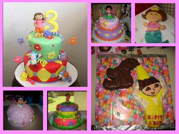 Dora cakes collection