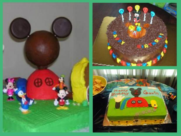 Mickey Mouse cakes