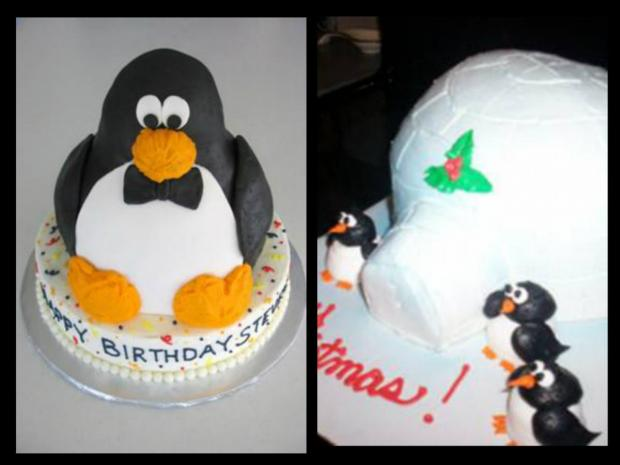 penguin cakes collection