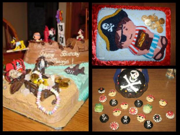 gallery of pirate cakes
