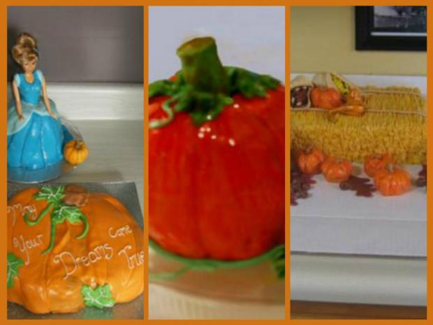 collection of pumpkin cakes