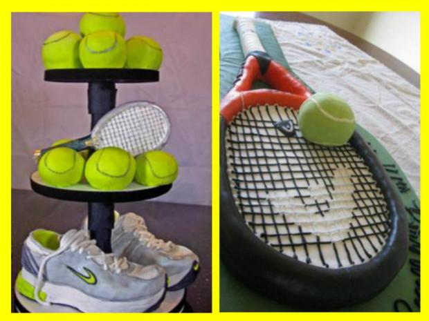2 great tennis cakes
