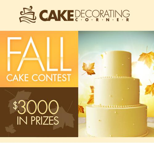 Fall Cake Contest at Cake-Decorating-Corner.com