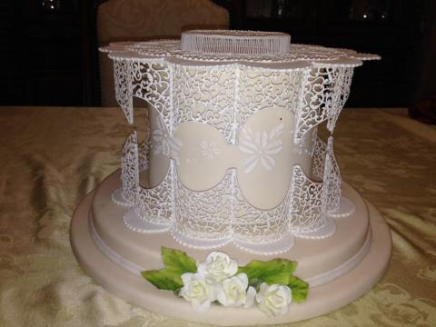 filigree icing work