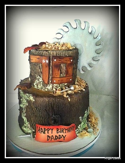 Birthday Cake For Man Who Owned Saw Mill Httpcake