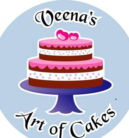 Veena's Art of Cake logo